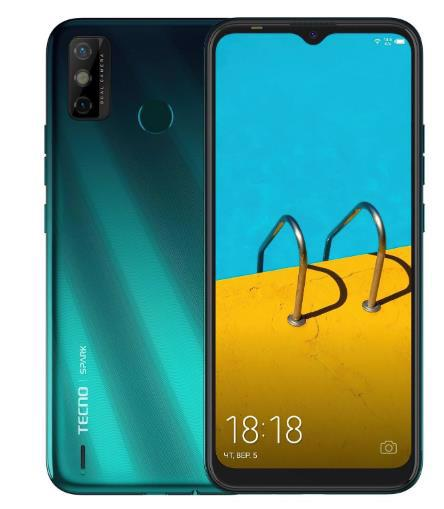 Смартфон TECNO Spark 6 Go 3/64Gb DualSIM Ice Jadeite