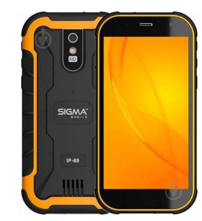 Смартфон SIGMA mobile X-treme PQ20 Black/Orange