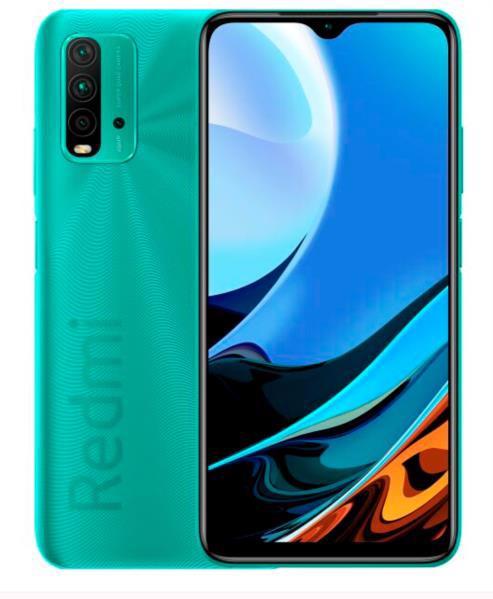 Смартфон XIAOMI Redmi 9T 4/64 Ocean Green NFS EU