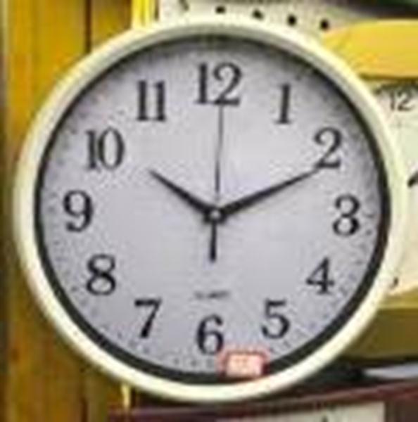 Годинник настінний 28см класичний круглий IMP071972