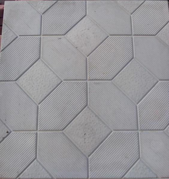 Плитка тротуарн. Мозаїка сіра 500*500 h-50 мм /Радуга/