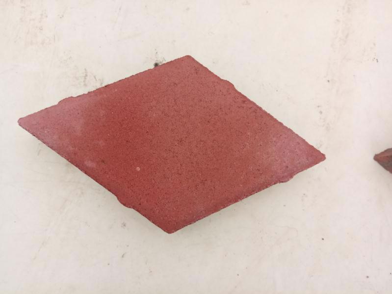 Плитка тротуарна Ромб червоний 140*140 h-40мм