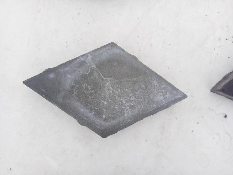 Плитка тротуарна Ромб сірий 140*140 h-40мм
