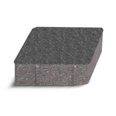 Плитка тротуарна Ромб чорний 140*140 h-40мм