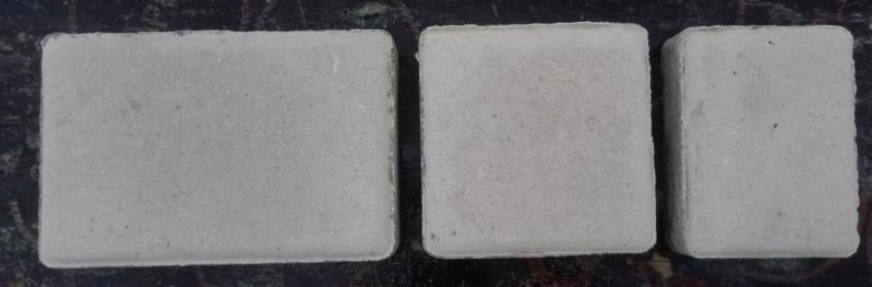 Плитка тротуарна Старе місто білий (180;120;90)*120мм h-40мм