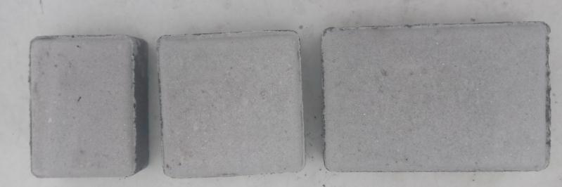Плитка тротуарна Старе місто сіре (180;120;90)*120мм h-40мм