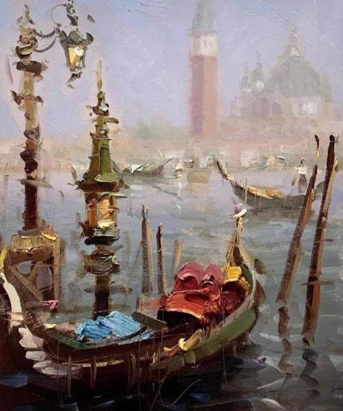 Картина ART FAMILY 50*50см Венеция