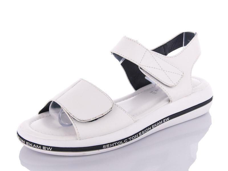 Босоніжки жіночі БАШИЛИ A49 white